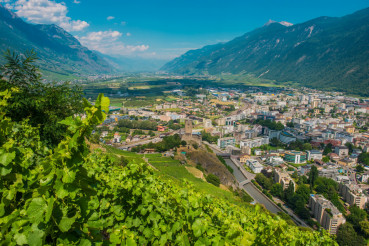 City of Martigny Switzerland