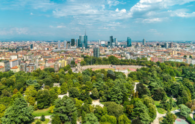 City of Milan Panorama