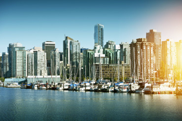 City of Vancouver in Canada