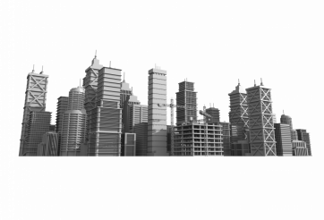 City Skyline Developing PNG