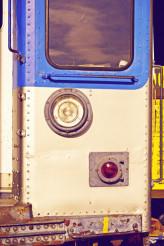 City Train Closeup