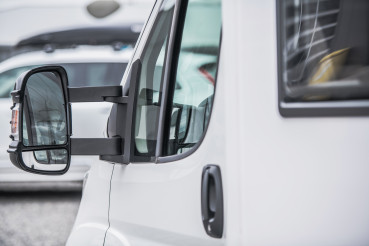 Class C Camper Van For Sale on Dealership Parking