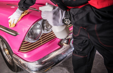 Classic Car Restoration Finish