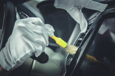 Cleaning Car Interior Elements