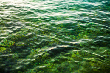 Clear Lake Water Background