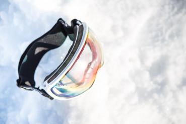 Clear Lens Ski Goggles