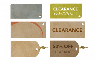 Clearance Retro Labels PNG