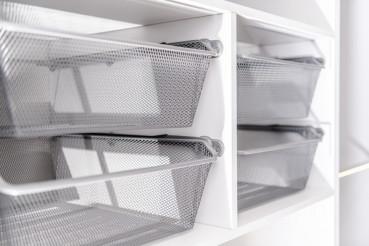 Closet Cabinet Baskets