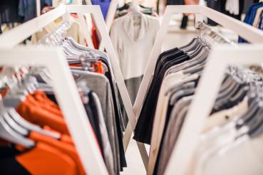 Clothing Store Rack