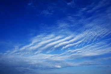 Clouds Formation Blue Sky