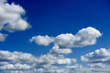 Cloudy Blue Skies