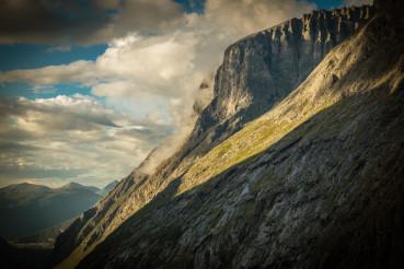 Cloudy Norwegian Nature