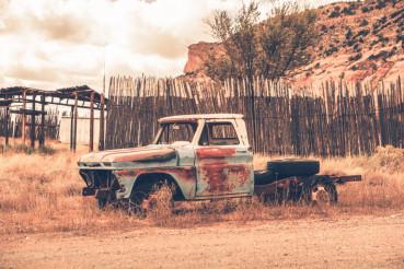 Clunker Pickup Truck