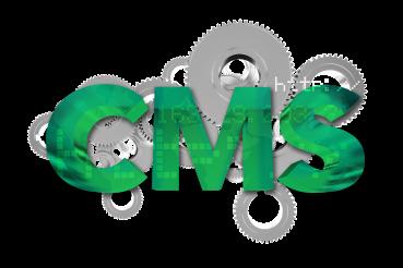 CMS Content Management System 3D Concept