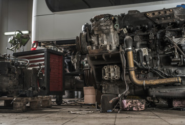 Coach Bus Diesel Engine Restoration