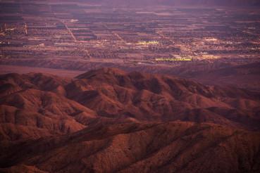 Coachella Valley at Dusk