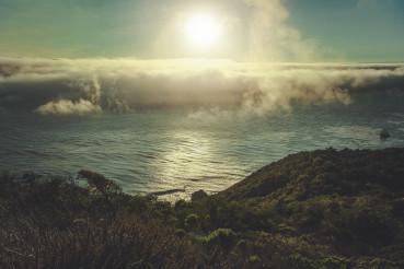 Coastal Southern California Sunset Scenery