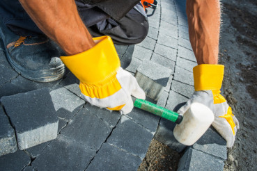 Cobble Brick Paving Works
