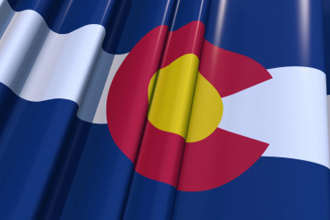 Colorado 3D Flag