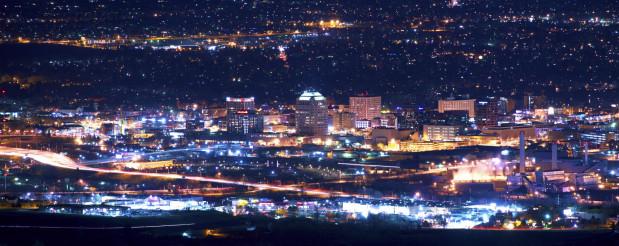 Colorado Springs at Night