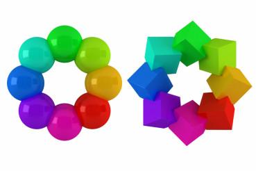 Colorful Circle Shapes