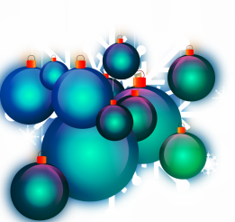 Colorful Ornaments PNG