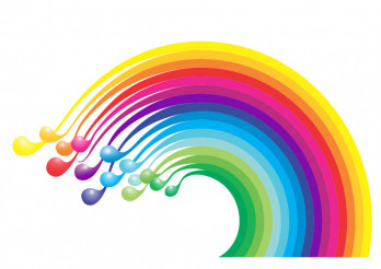 Colorful Rainbow Vector