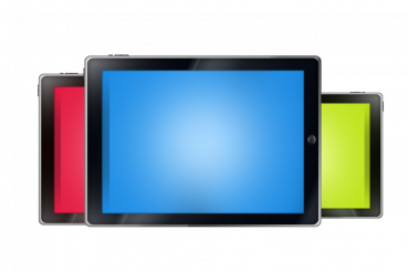 Colorful Tablet Devices