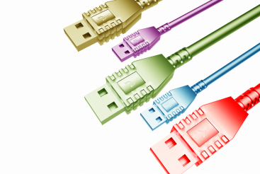 Colorful USB Cables