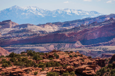 Colorful Utah Landscape