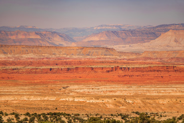 Colourful Utah State Landscape