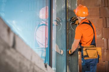 Commercial Building Windows Installation