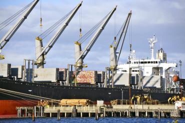 Commercial Cargo Ship