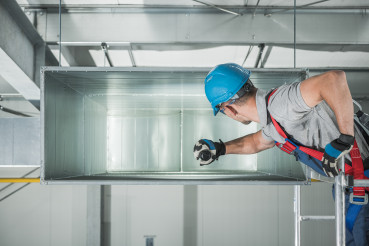 Commercial Warehouse Air Ventilation and Climate Control Canal Maintenance