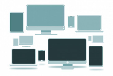 Computer Devices Illustration