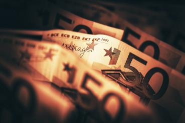 Conceptual Euro Money Photo
