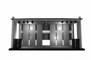 Concert Stage 3D Illustration
