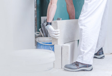 Concrete Blocks Moving