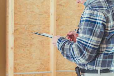 Construction Supervisor Making on Site Documentation