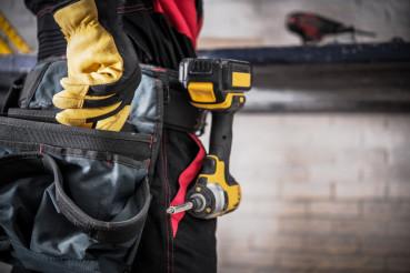 Construction Worker Closeup