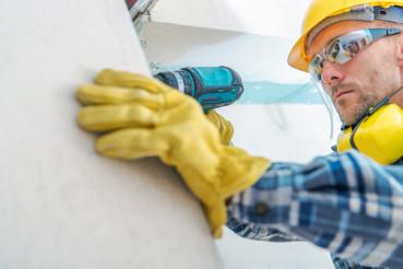 Contractor Remodeling Job