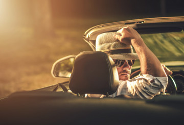 Convertible Car Road Trip