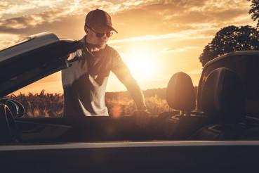 Convertible Car Summer Road Trip