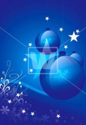 Cool Blue Christmas