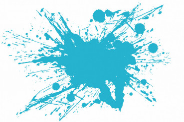 Cool Blue Vector Splash