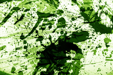 Cool Green Splashes