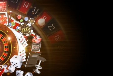 Copy Space Casino Background