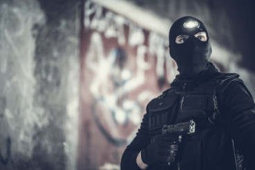 Counter Terrorist Portrait