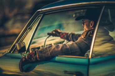 Cowboy Muscle Car Drive