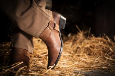 Cowboys Shoes Closeup